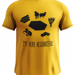 Tshirt with resource icons